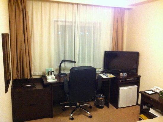 Hotel Sealuck Pal Mito : 広いシングルルーム
