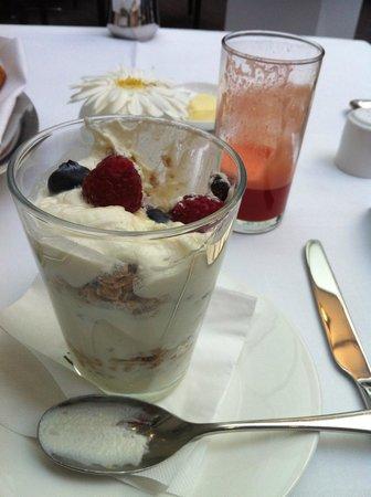 COMO Metropolitan London : delicious breakfast