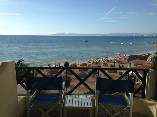 Blue Chairs Resort by the Sea: The view from room 303