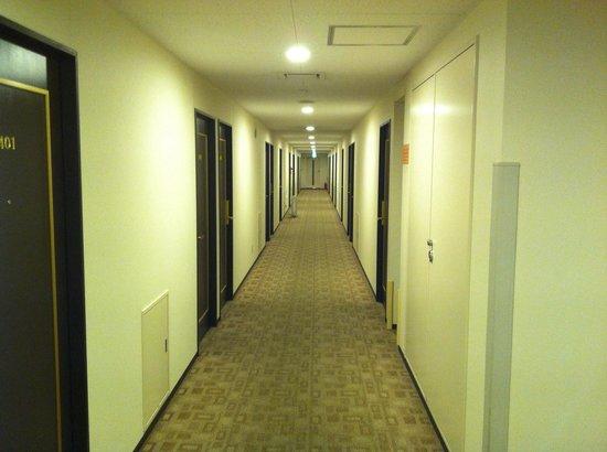 Hotel Sealuck Pal Mito : ホテル内廊下
