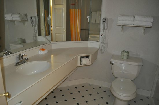 La Quinta Inn & Suites Fremont / Silicon Valley: sink