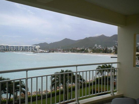 Simpson Bay Resort & Marina: balcony