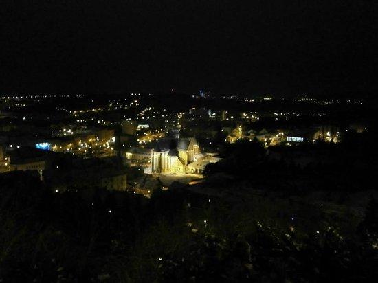 Spilberk Castle : Ausblick bei Nacht