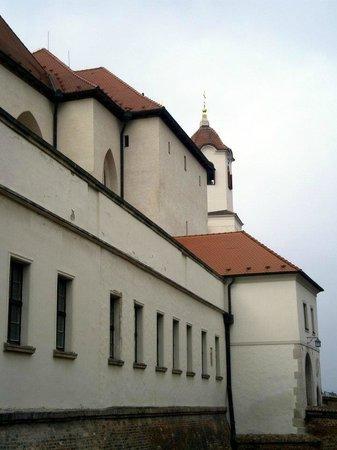 Spilberk Castle : Die Burg von Außen