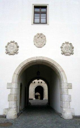 Spilberk Castle : Im Innenhof