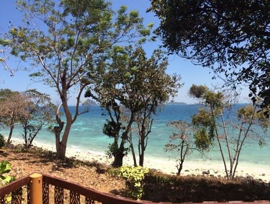 Phi Phi Natural Resort : marvelous view from bungalow