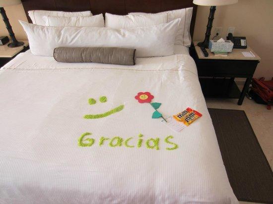 Live Aqua Beach Resort Cancun: More rice art