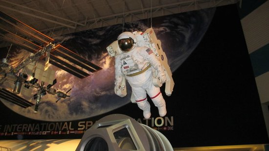 Space Center Houston : cool stuff