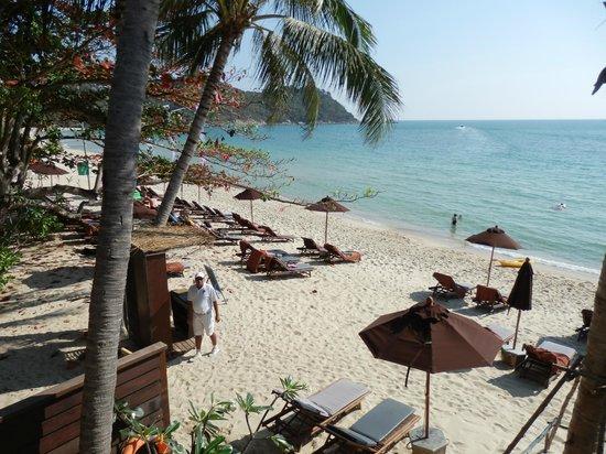 Buri Rasa Koh Phangan: 1st Floor beachfront room view