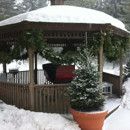 Golden Eagle Resort: Gazebo