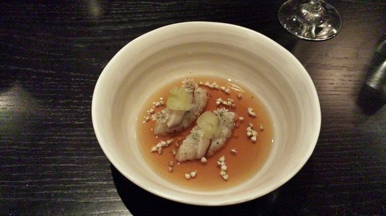 Merediths : Crab with shitake broth