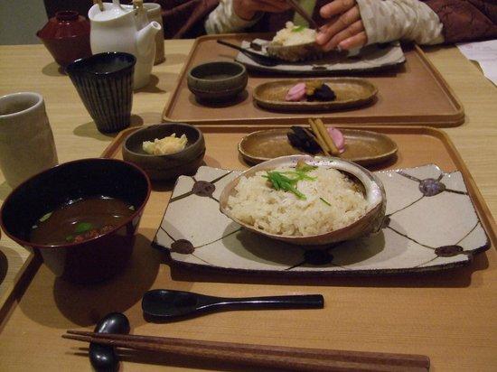 Ise Shinsen: 鮑蒸し御飯