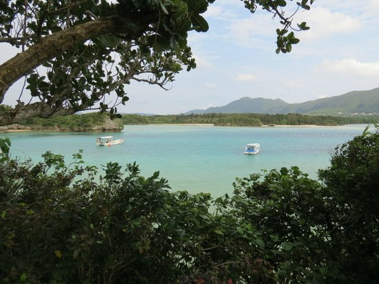 Le Lotus Bleu: kabira beach