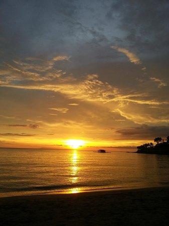 Senggigi Beach: Sunset Senggigi