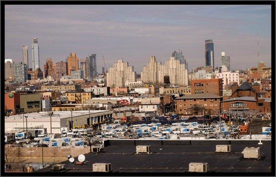Hotel Le Bleu: Manhattan from Le Bleu daytime