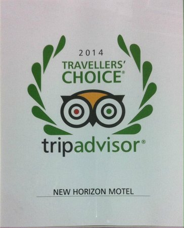 New Horizon Motel: Travelers' Choice 2014 Award Winner