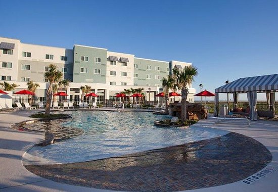 Courtyard by Marriott Galveston Island: Outdoor Pool