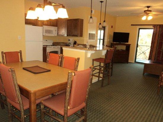 Wyndham Smoky Mountains: Dining room
