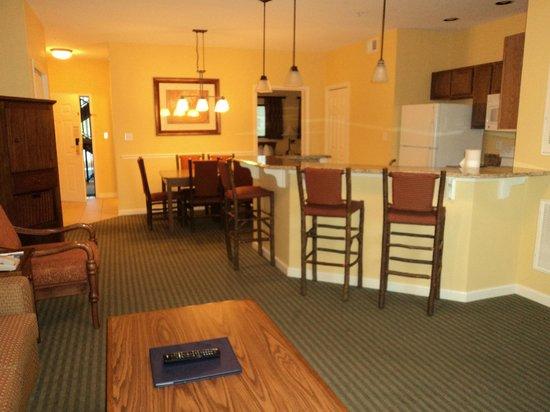 Wyndham Smoky Mountains: Kitchen/ Diningroom