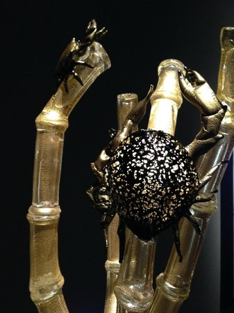 Jardín y cristal Chihuly: Glass sealife