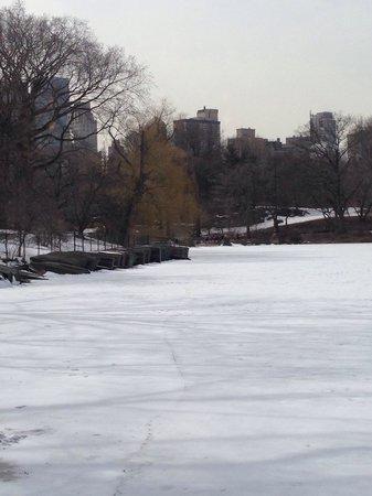 The Loeb Boathouse at Central Park : Vista do restaurante