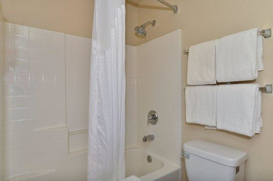 Holiday Inn Express Portland SE-Clackamas Area: Guest Bathroom