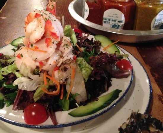 Rodney's Oyster House : シーフードサラダ