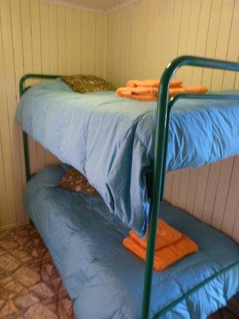 Turismo Curalemu : Segunda habitación cabaña 2