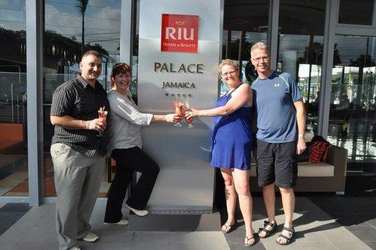 Hotel Riu Palace Jamaica : 25 th wedding Anniversary
