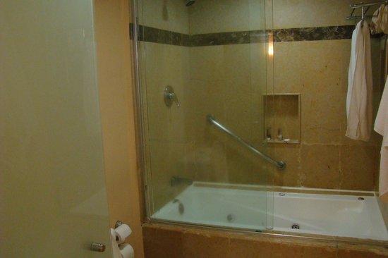 Eurostars Zona Rosa Suites: O banheiro é funcional e bonito.