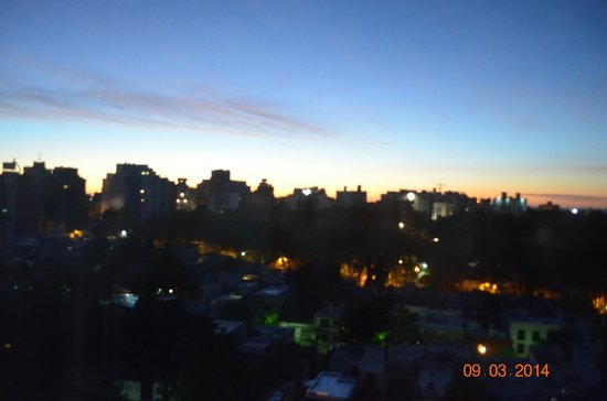 Intercity Montevideo: amanhecer