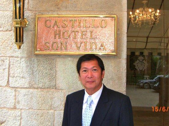 Castillo Hotel Son Vida, a Luxury Collection Hotel: The Entrance