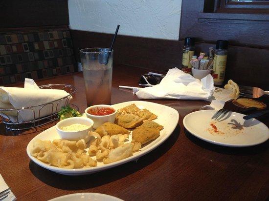 Olive Garden: Almoço perfeito
