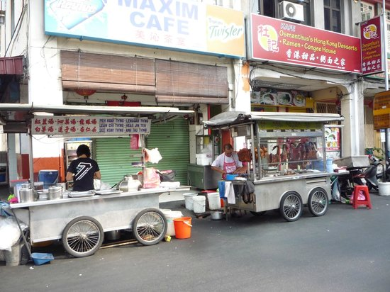 Hotel Sentral Georgetown: Road side food stall