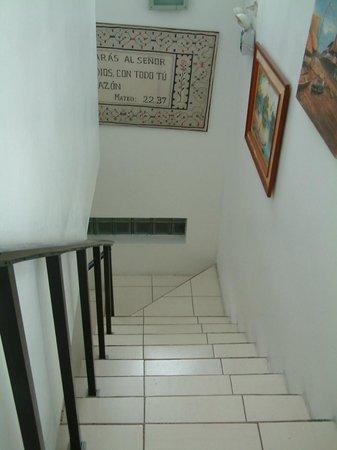 Hotel La Casona Iquitos: STAIRS