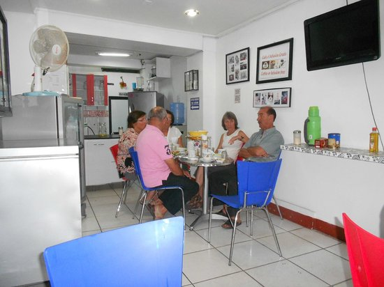 Hotel La Casona Iquitos: BREAKFAST AREA 2