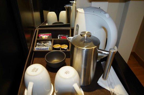 The Westin Resort Nusa Dua Bali Complimentary Coffee Tea Set Up
