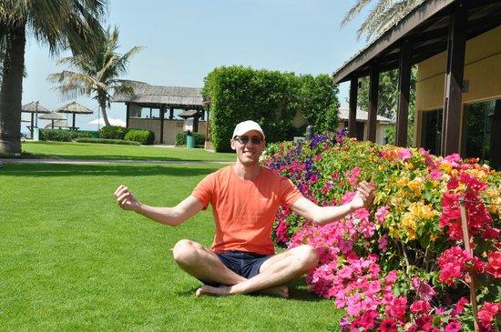Coral Beach Resort Sharjah: Я доволен собой )