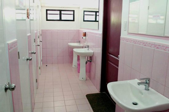 Clean comfort rooms for women - Picture of The Cabin, Subic Bay ...