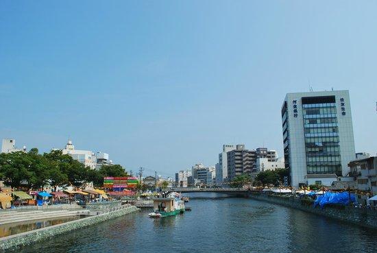 Hyotan island cruise: 船からの景色