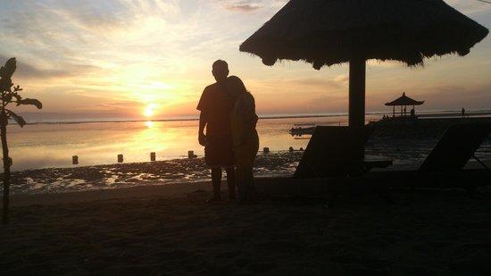 Kind Villa Bintang Resort & Spa: Zonsopkomst 6 uur in de morgen