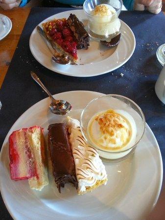 Chalet de la Marine : Les desserts