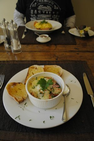 Bellerive House : Breakfasts to die for