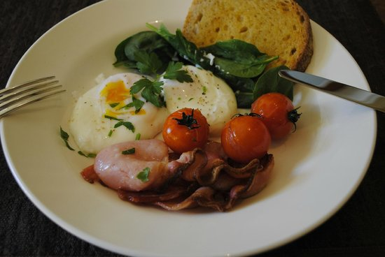 Bellerive House : Fresh Tassie produce in another mouthwatering breakfast