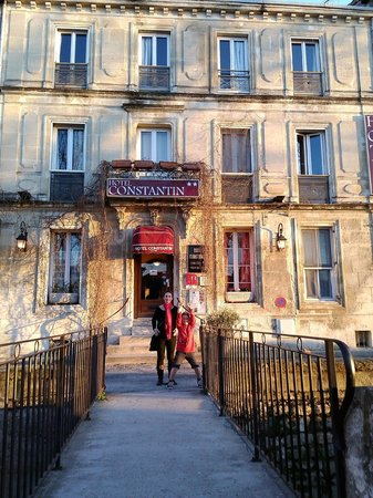 Hotel Constantin: Vu de la façade