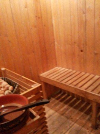 Grand View Hotel: Sona bath in hotel ( heating room)