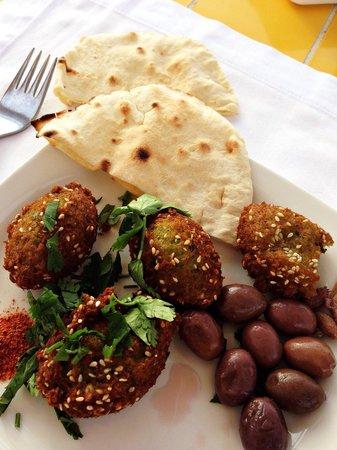 Le Meridien Dahab Resort: Les fameuses falafel du chef !!!