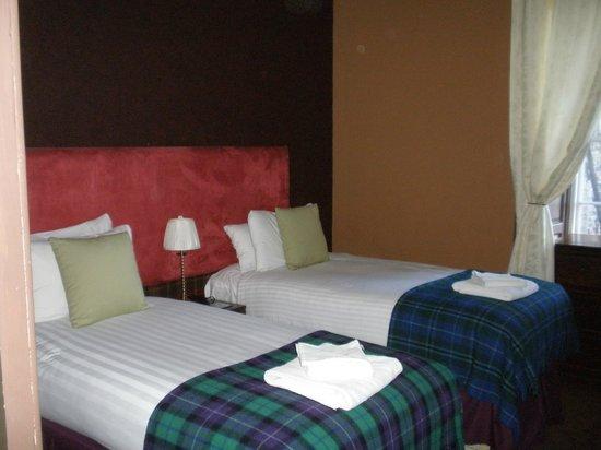 Stay Edinburgh City Apartments - Royal Mile: Вторая спальня с раздельными кроватями
