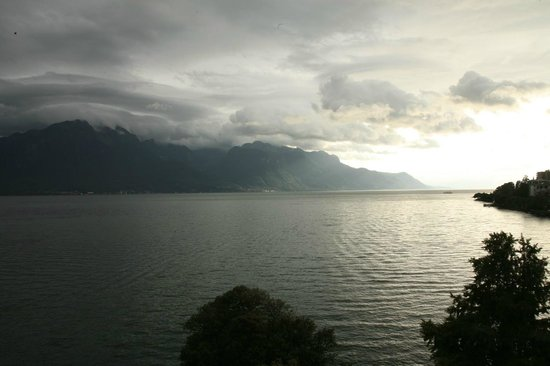 Hotel Royal Plaza Montreux : View from room pic 1