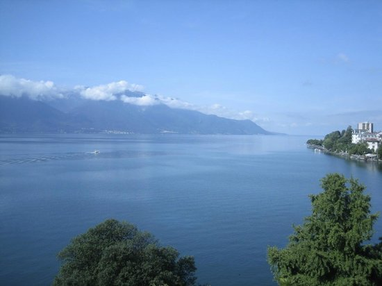 Hotel Royal Plaza Montreux : View from room pic 5